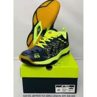 Sepatu badminton bulutangkis RS JEFFER JF 701 original KUALITAS
