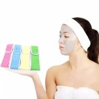 Bandana Facial Besar 8 cm / Bando / Headband untuk Mandi, Creambath ,