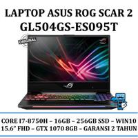 ASUS ROG GL504GS-ES095T SCAR 2 Ci7-8750H/16GB/256SSD/GTX 1070 8GB/W10