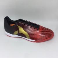 New..Sepatu futsal Ortuseight original Forte Helios red black gold new