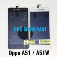 Original OEM LCD Touchscreen Fullset Oppo A51 - A51W - Mirror 5