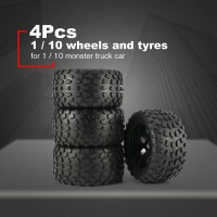 RC Offroad Tires - Ban Offroad RC Monster truck HSP 1:10 hex 12mm