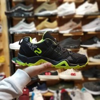 sepatu Adidas ax2 for man black grey stabilo