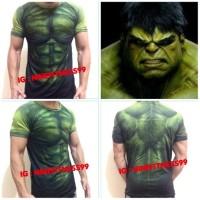 Baju gym fitness Hulk 03 sixpack alat kesehatan