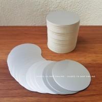 Seal Induksi PET 40 mm - Segel Alumunium Foil Jar Induction Liner Cap