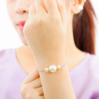 Perhiasan Gelang Mutiara Swarovski Mherl Pearl Bracelet by AR Hestia