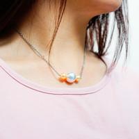 Perhiasan Kalung Mutiara Swarovski Mherl Pearl Necklace by AR Hestia