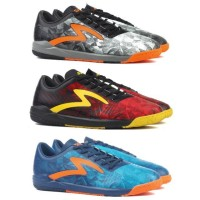 Ori Sepatu Futsal Specs Swervo Dynamite IN - Black / Emperor Red /