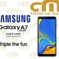 Samsung Galaxy A7 2018 4/64 RAM 4GB ROM 64GB GARANSI RESMI SEIN - Biru
