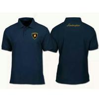 Polo shirt Lamborghini / Baju kaos polo Lamborgini Big Size 3XL - 6XL