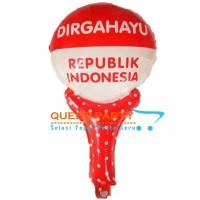 balon foil pentungan HUT RI/ balon merah putih/ balon 17 agustus