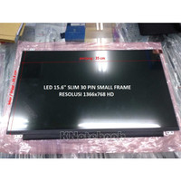 LCD LED Asus X505Z 15.6 Slim 30 Pin SMALL FRAME HD 1366x768