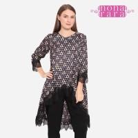 Tunik Sakina T0390, Baju Blouse Atasan Batik Wanita Modern Nona Rara - L