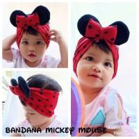 Bandana Mickey mouse/anak/baby/bayi/balita/kids/bando