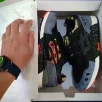 Sepatu Asics Gel lyte III tiger Camo bergaransi kualitas harga terbaik - Abu-abu, 40