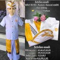 Pakaian adat bali baju khas bali anak laki-laki