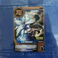 kartu animal kaiser miracle card ver 4 ice meteor bronze card
