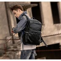 Tas Ransel Pria Kulit / Tas Pria Kulit / Ransel Backpack Pria (HAVANA)