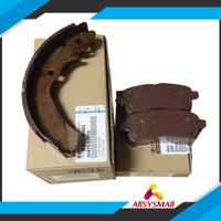 Paket Kampas Rem Depan dan Belakang Brake Pads Brake Shoe Avanza Xenia