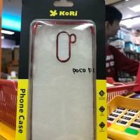 Xiaomi Pocophone F1 Premium KoRi Back Case Cover Plating List Chrome