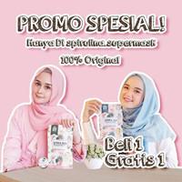 Masker Spirulina Premium untuk 50 hari Bonus isi yang sama