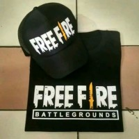 baju kaos combet 30s FREE FIRE PUBG BATTLE GROUND FREE TOPI FREE FIRE