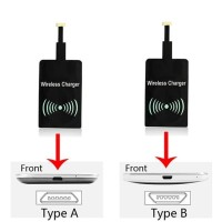 qi wireless charger receiver type A positif untuk hp android