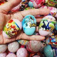Mainan anak Telur surprise pokemon/surprise egg murah meriah grosir