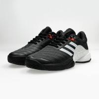 Adidas Barricade 2018 Black White Clay Shoes For Man Premium Original
