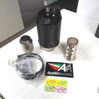 knalpot motor model austin racing GP1R taiwan inlet 51mm