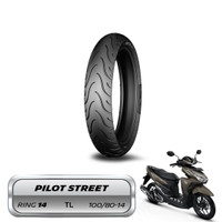 Ban Belakang Upsize Vario 150 Michelin Pilot Street 100/80-14 Tubeless