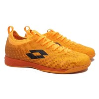 Sepatu Futsal Lotto Spark IN - Beat/Orange/Black