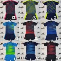 Terlaris Baju Kaos Futsal/Bola Anak Junior Nike Adidas Puma Stelan