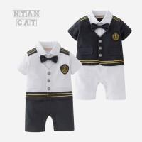 baju tuxedo bayi. baju kapten anak. baju anak marine sailor marvel