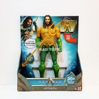 Aquaman mattel 12/30cm dc trident strike action figure