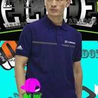 kaos kerah polo shirt Adidas nafy Tshirt keren
