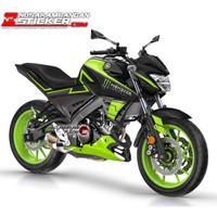 Decal Motor Sticker Motor Yamaha Vixion R Monster Kuning
