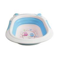 BABY SAFE BAK MANDI WADAH AIR BASKOM LIPAT FOLDABLE WASH BASIN
