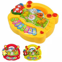 ANIMAL FARM MUSIC PIANO/ animal Piano / mainan alat musik piano/ piano