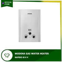 MODENA GAS WATER HEATER - GI 6V