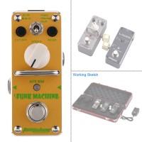 AROMA AFK-3 Pedal Efek Gitar Elektrik Single Funk Machine Otomatis
