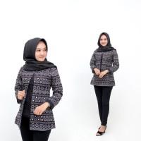 Blouse Batik Wanita Naza Modern Songket