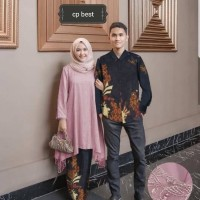 ivr Couple Best maxi kemeja pakaian muslim wanita pria