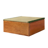 Hagihara Sofa/Bangku Box/Kotak Penyimpanan Tatami Kayu Natural