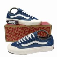 Sepatu Vans Old Skool Style 36 Decon Blue Navy UA Mirror BNIB