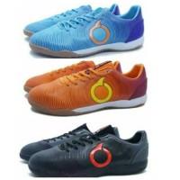 Sepatu Futsal Ortuseight Catalyst Oracle IN Pale Cyan Orange Black