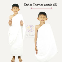 Kain Ihram Anak SD Baju Ihrom Anak Laki-laki Manasik Haji dan Umroh