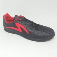 Paling Terpercaya Sepatu Futsal Specs Original Ricco Black/Red New