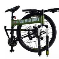Terbaru Sepeda Mtb Lipat Us Military 26In Murah