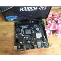 ASRock H310CM-DVS (LGA1151, H310, DDR4, USB3.1, SATA3) Coffeelake